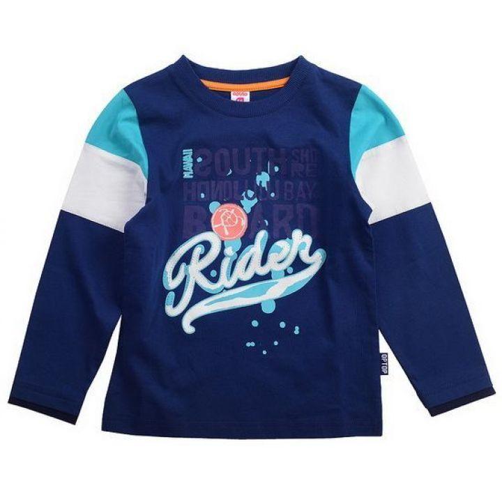 Джемпер для мальчика Rider цвет темный джинс