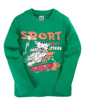 Зеленый джемпер для мальчика Sport