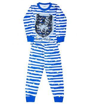 Пижама для мальчика в полоску