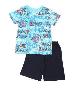 Пижама для мальчика Зона баскетбола