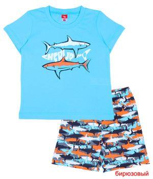 Пижама для мальчика Дельфин