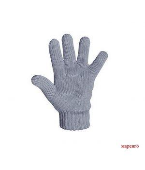 Серые перчатки для мальчика