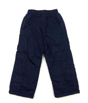 Утепленные брюки-плащёвка для мальчика