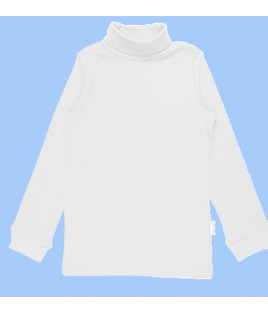 Джемпер для мальчика белого цвета, Черубино