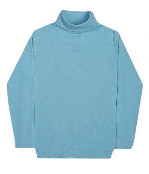 Водолазка для мальчика голубая