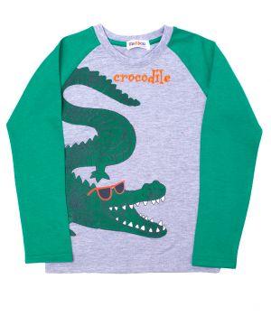 Джемпер для мальчика Крокодил