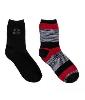 Носки для мальчика Красное и черное, 2 пары