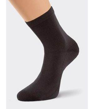 Теплые носки черного цвета