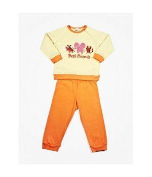 Пижама для девочки Товарищи