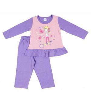 Пижама для девочки Прогулка