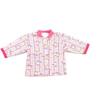 Кофта розовая Цыплята для девочки 3 месяцев