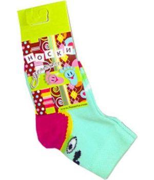Носки Птички для девочки 3-6 месяцев
