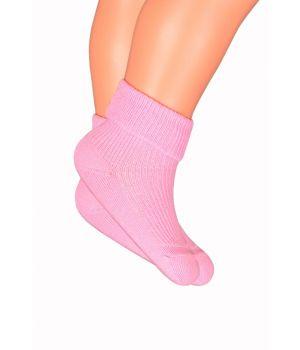 Носки детские розовые размер 10-12