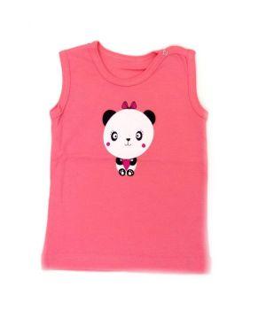 Майка для девочки розовая