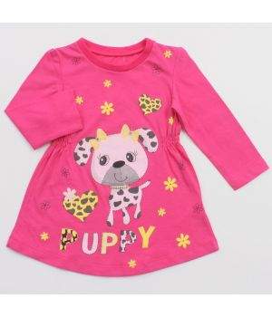 Платье Puppy для девочки 1 годика