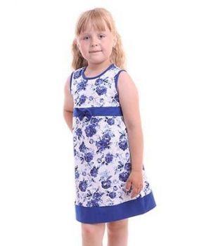 Летнее платье для девочки Дивный сад