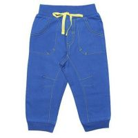 Синие штаны на завязках