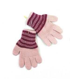 Перчатки для девочки розовые